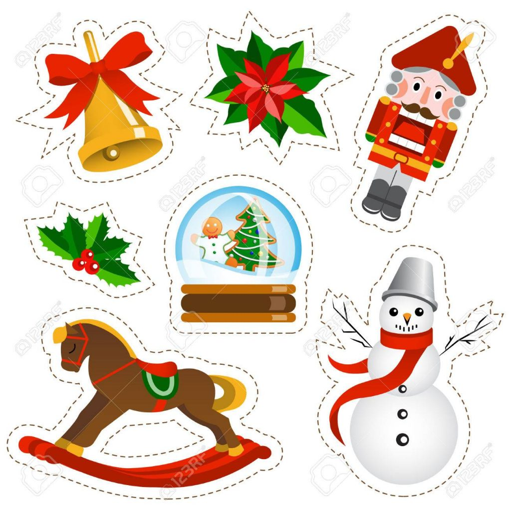 pegatinas de navidad
